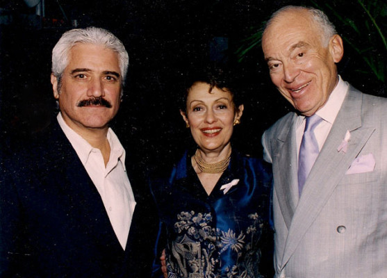 Laurence & Evelyn Lauder with Ronn Jaffe